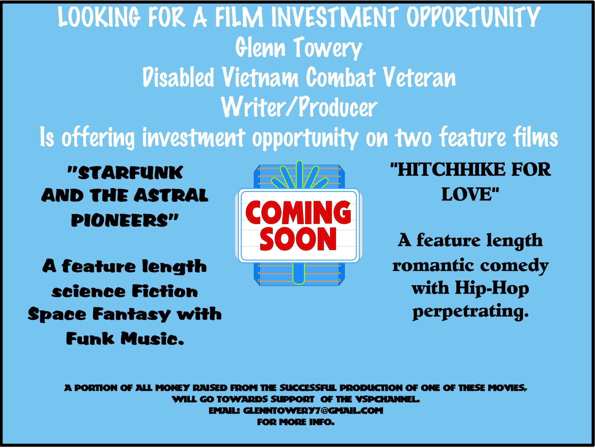 Support Veteran Filmmaker Glenn Towery